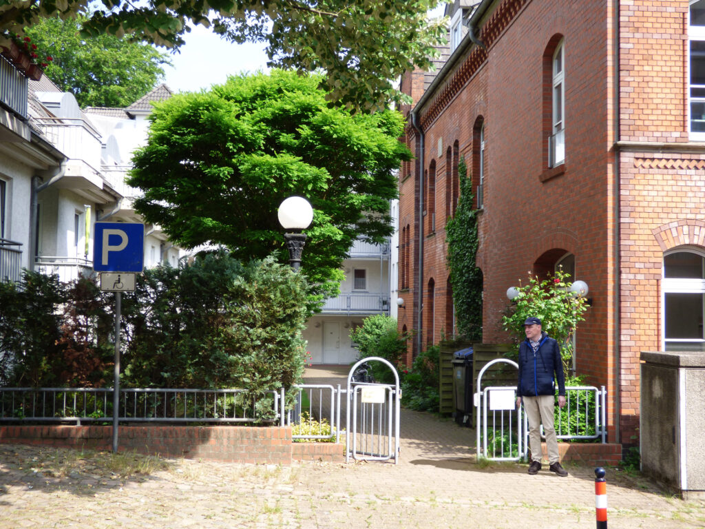 Eingang Teilhabetreff Bremen-Nord